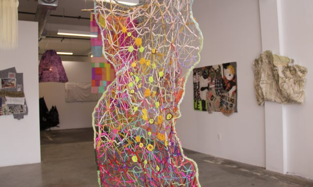 Forty Women Pulling at The Threads of Social Discourse – Melanie Prapopoulos